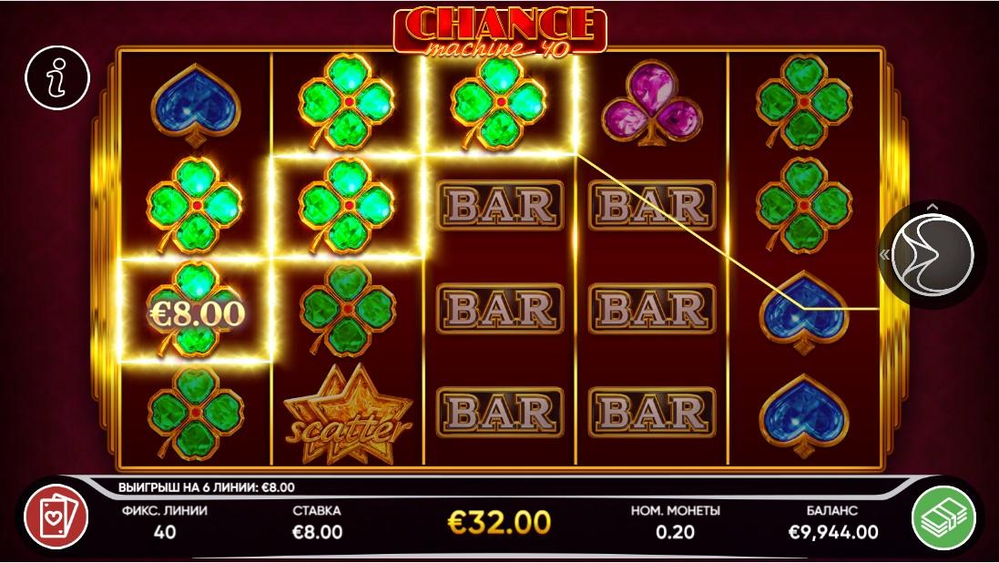 Chance Machine 40 игровой автомат