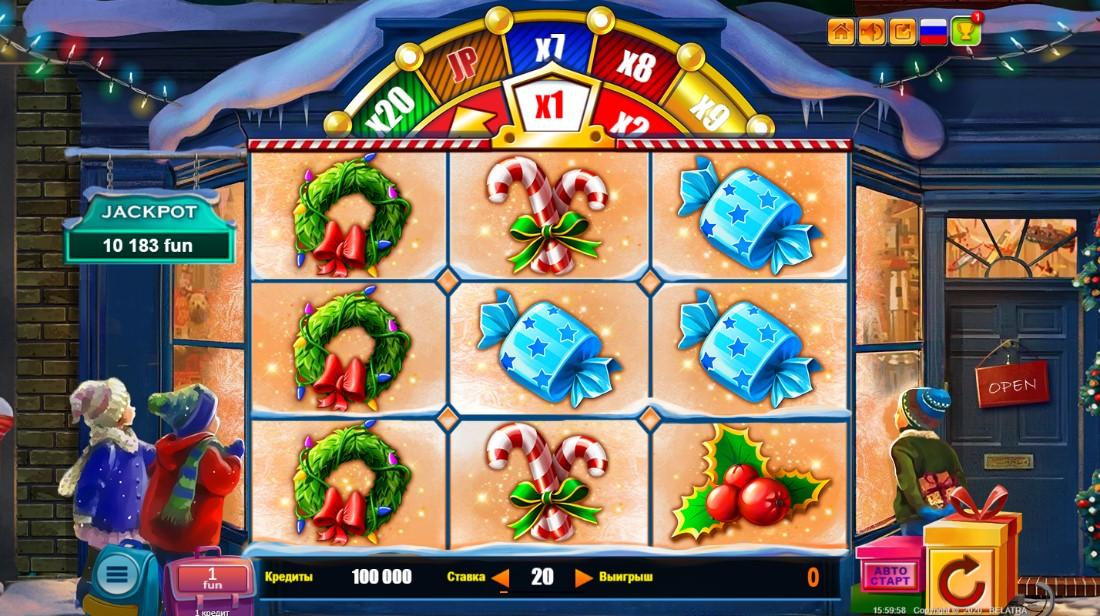 Christmas Jackpot онлайн слот