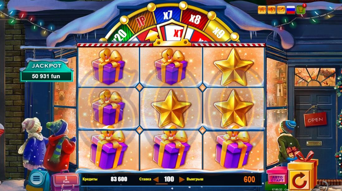 Christmas Jackpot игровой автомат