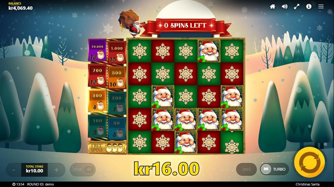 Christmas Santa игровой автомат