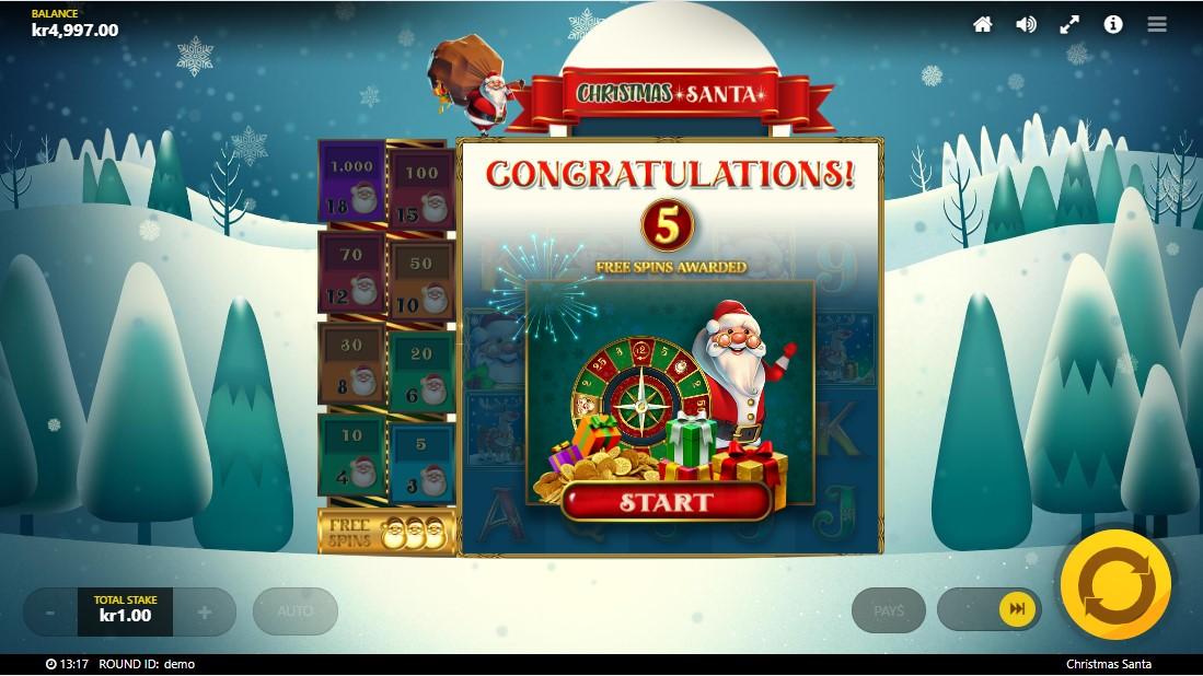 Бесплатный слот Christmas Santa