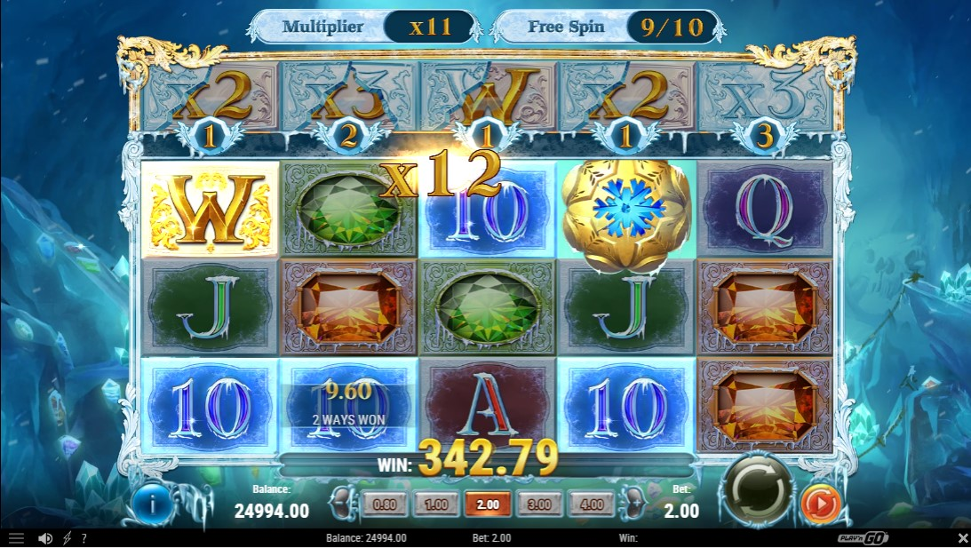 Frozen Gems игровой автомат