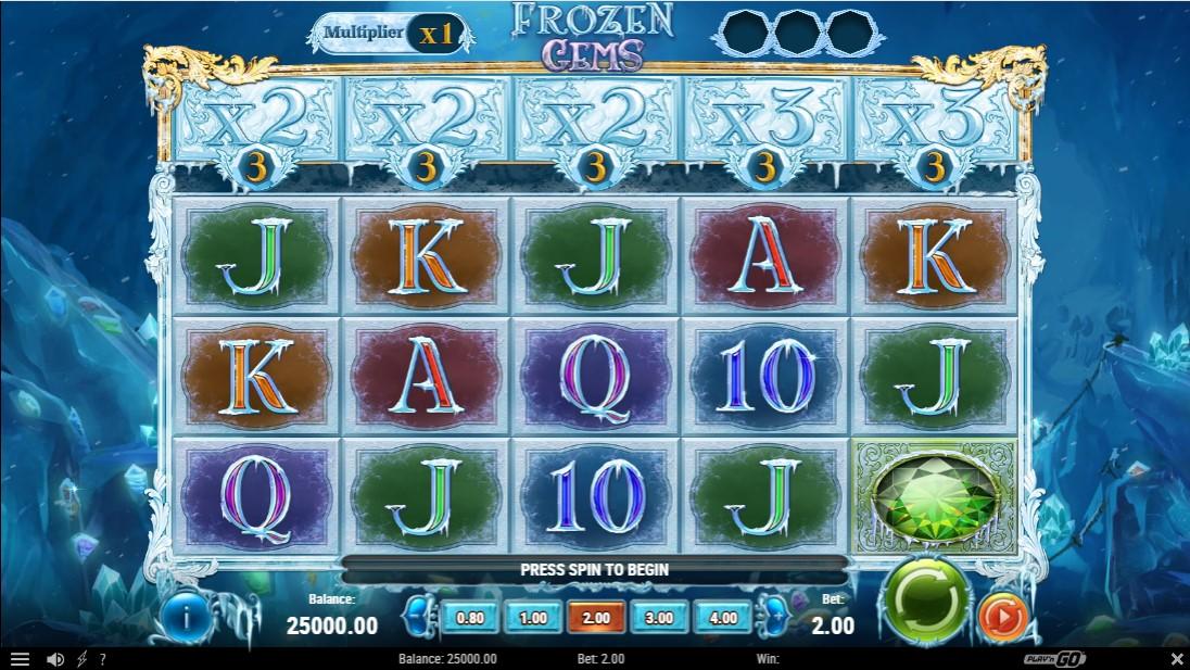 Free slot Frozen Gems
