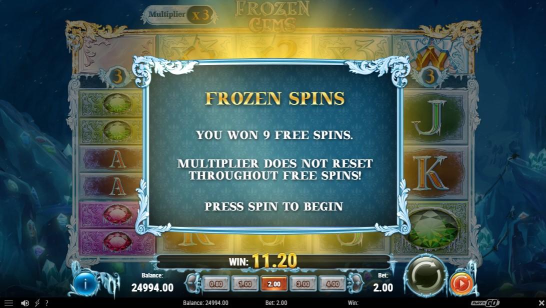 Бесплатный слот Frozen Gems