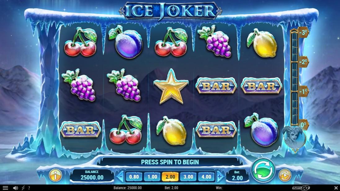 Слот Ice Joker играть