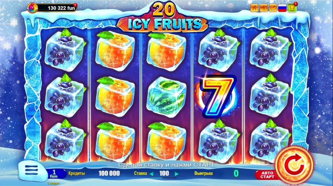 Free slot Icy Fruits