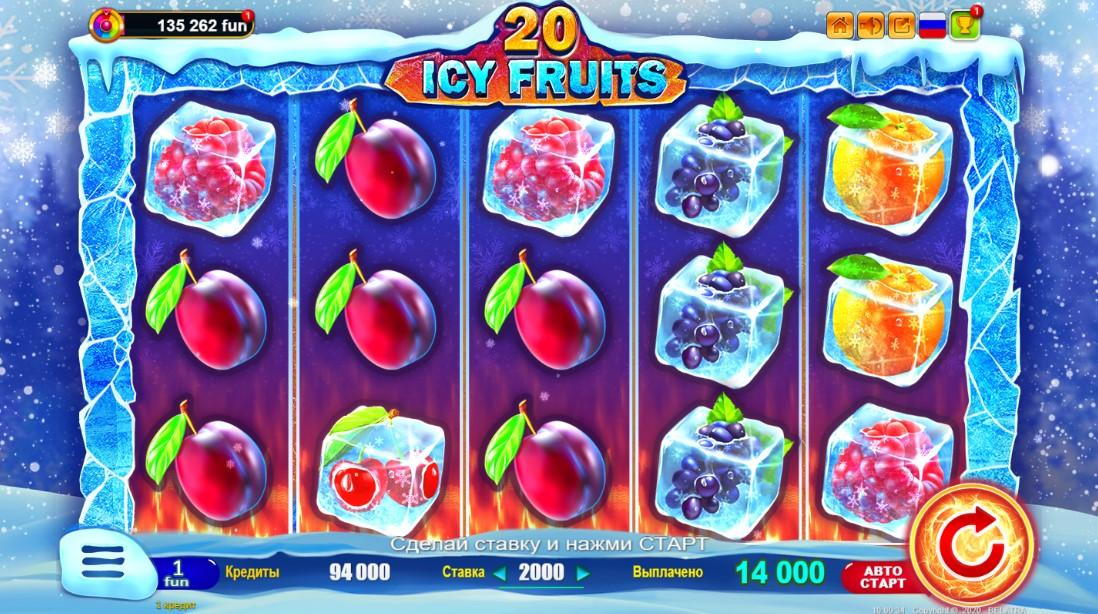 Бесплатный слот Icy Fruits