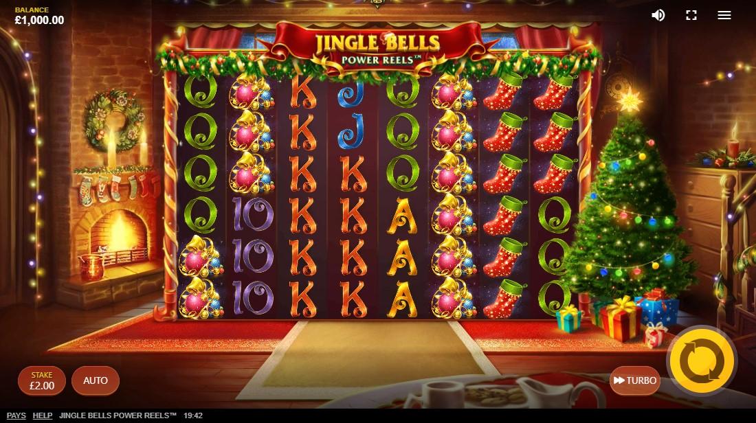 Jingle Bells Power Reels бесплатный слот