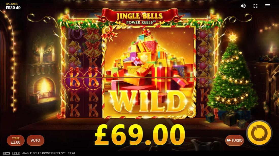 Jingle Bells Power Reels онлайн слот