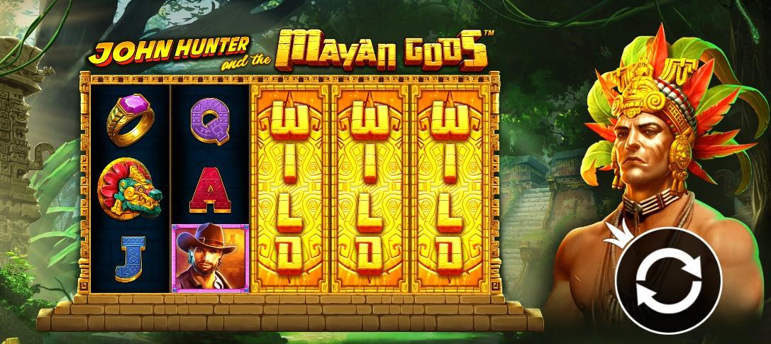 Играть John Hunter and the Mayan Gods бесплатно