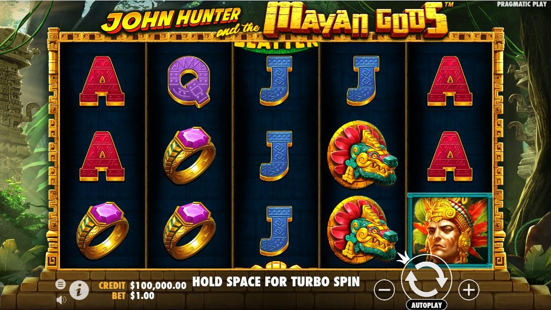 Бесплатный слот John Hunter and the Mayan Gods