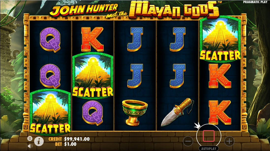 Free slot John Hunter and the Mayan Gods