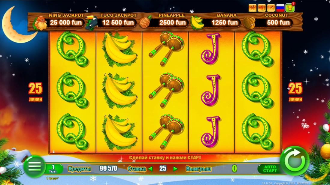 New Year Monkey JackPot онлайн слот