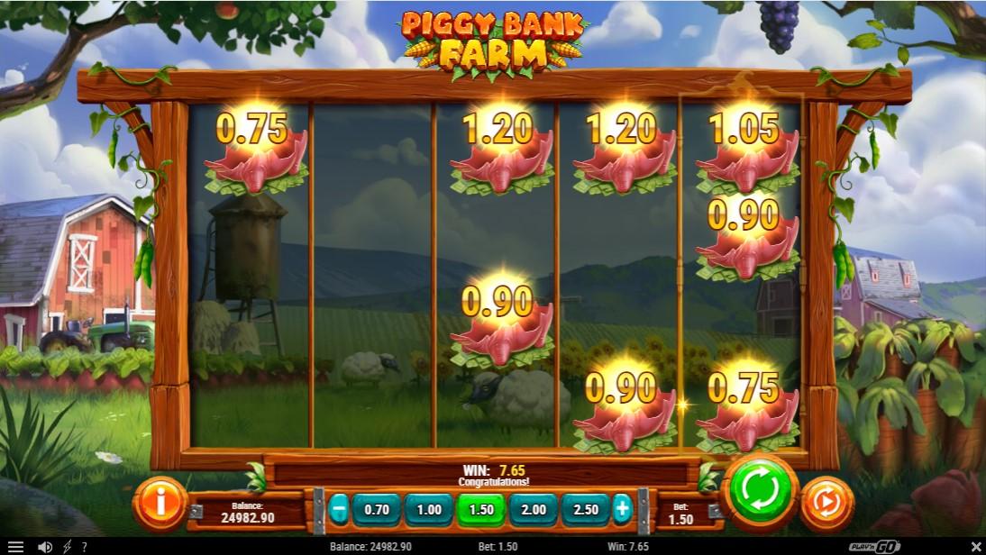 Piggy Bank Farm игровой автомат