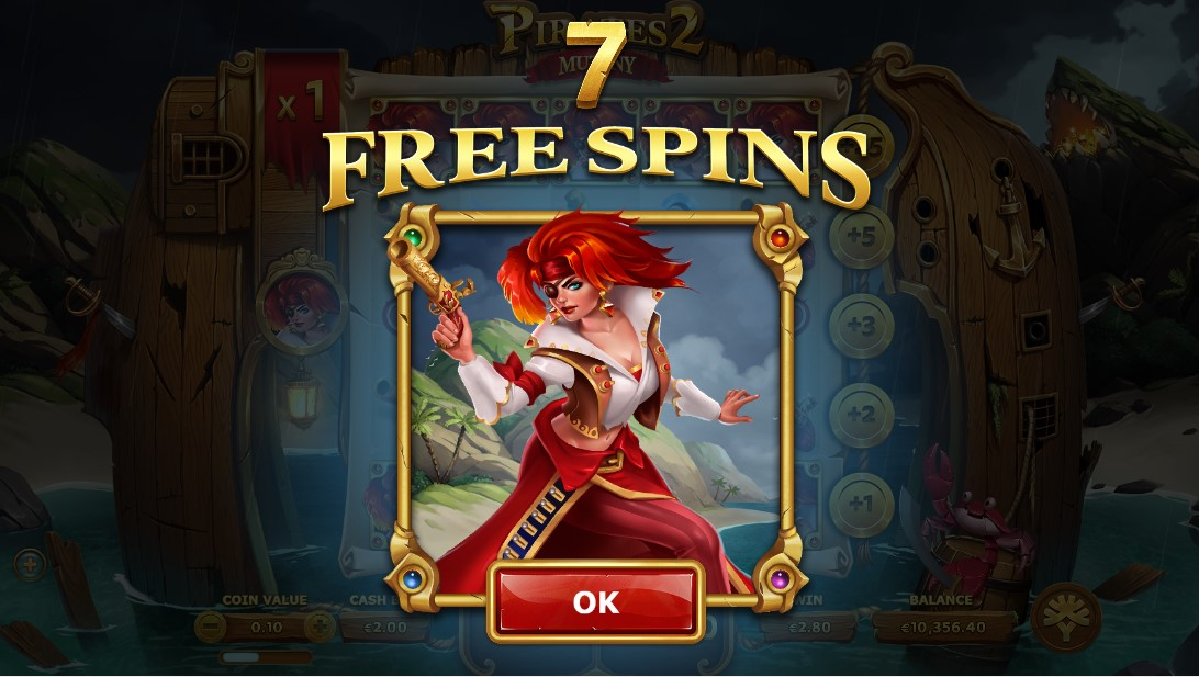 Free slot Pirates 2 Mutiny