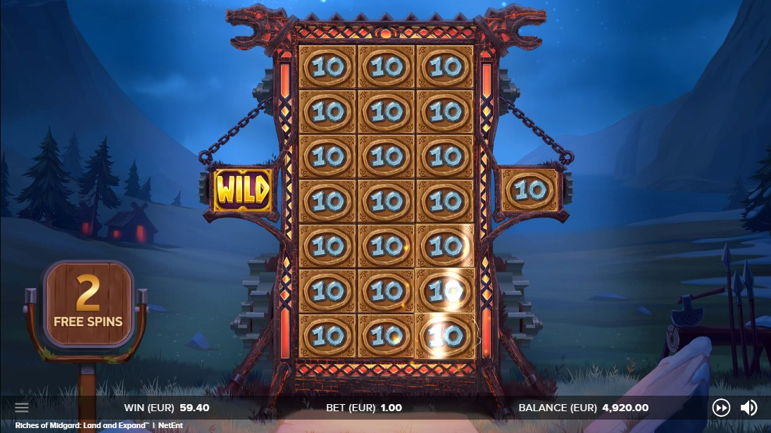Free slot Riches of Midgard Land and Expand