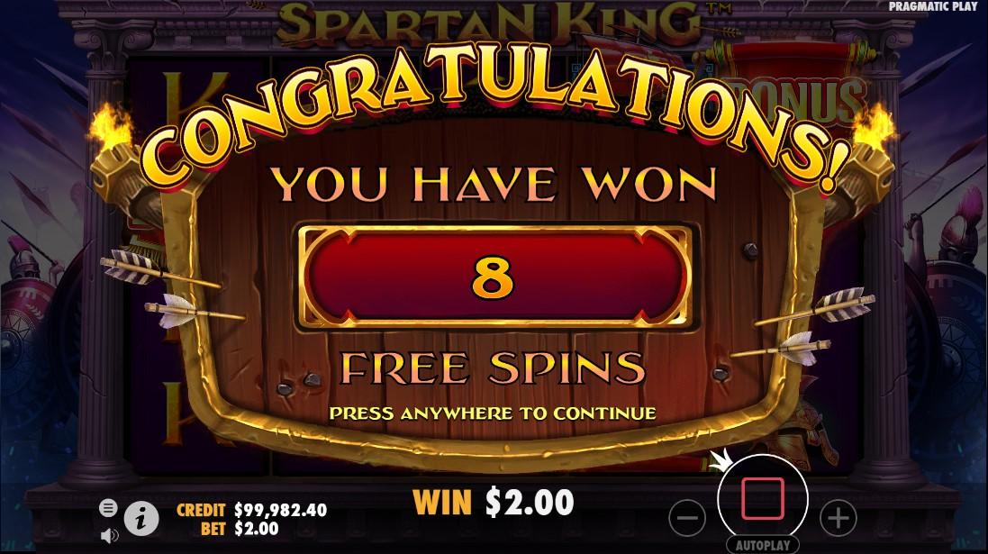 Free slot Spartan King