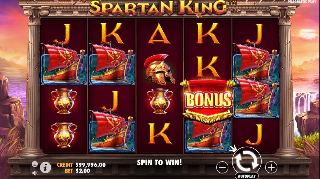 Spartan King игровой автомат