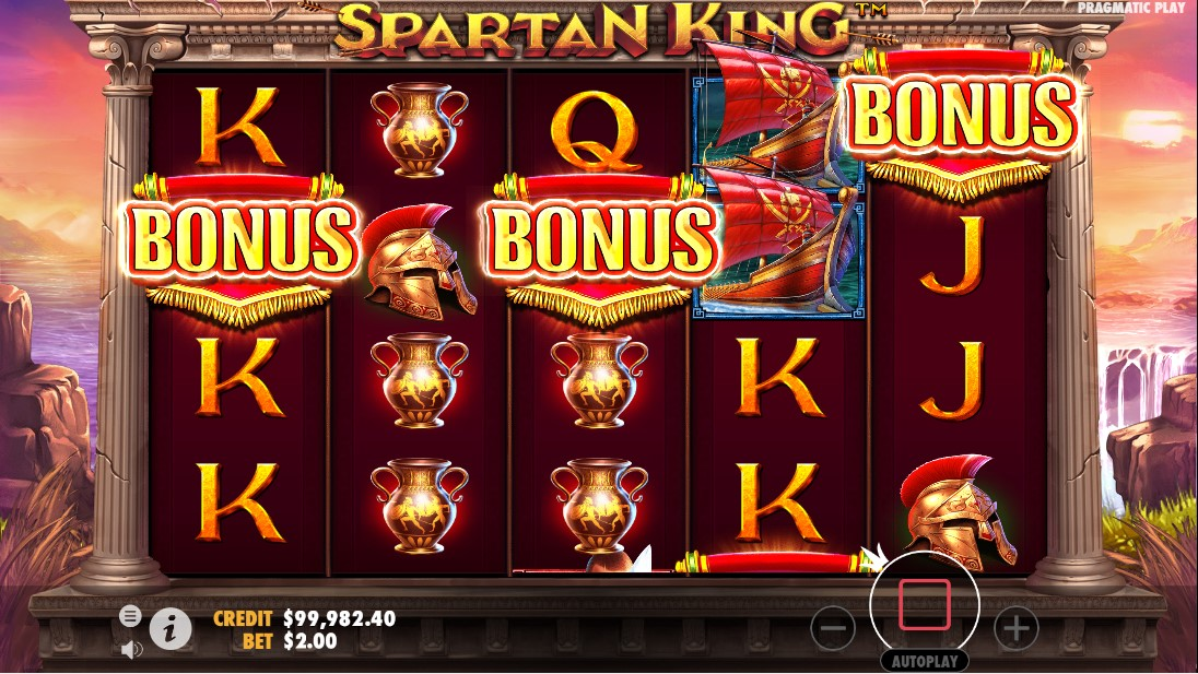 Онлайн слот Spartan King