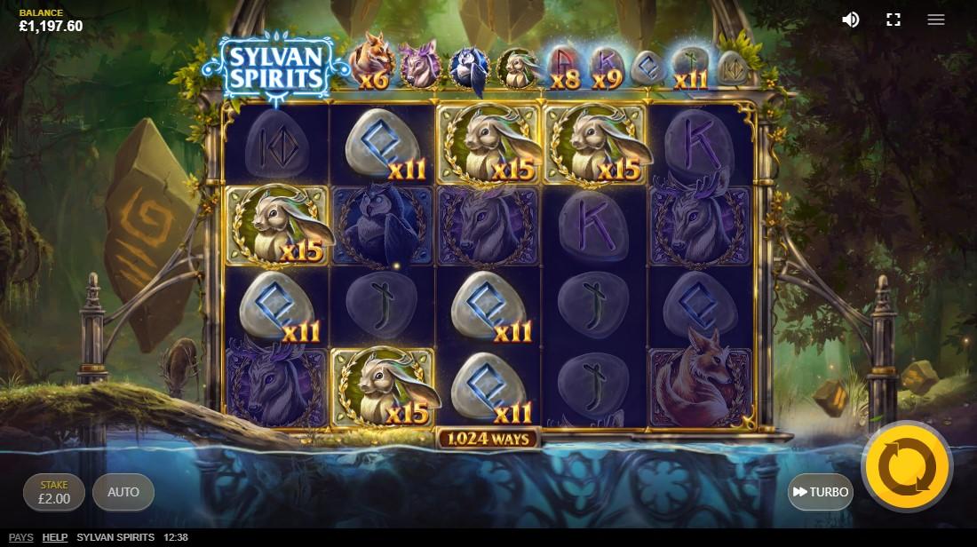Free slot Sylvan Spirits