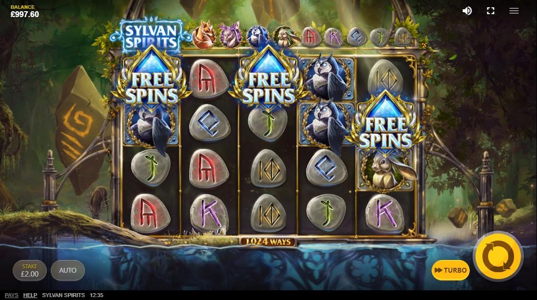 Бесплатный слот Sylvan Spirits