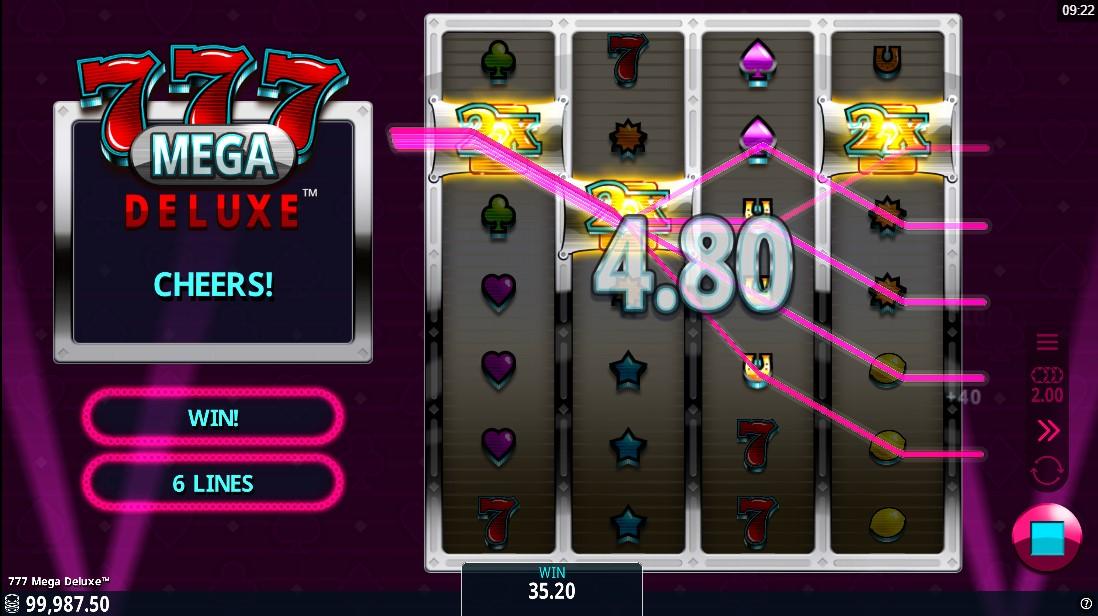 777 Mega Deluxe игровой автомат