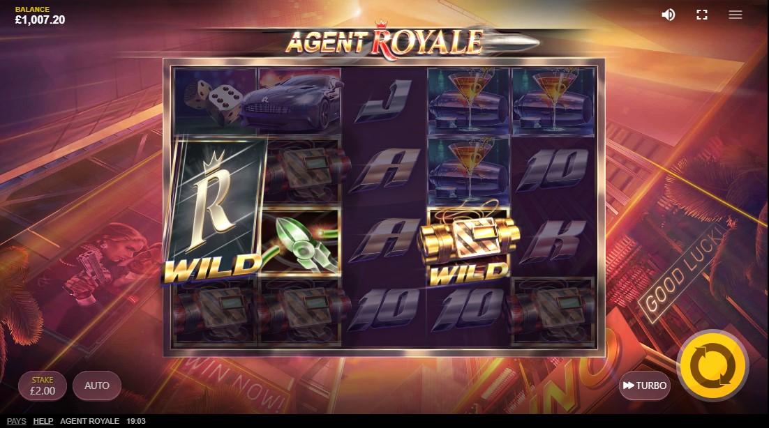 Agent Royale игровой автомат