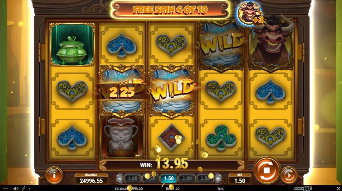 Bull in a China Shop игровой автомат