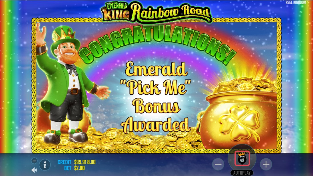 Emerald King Rainbow Road онлайн слот