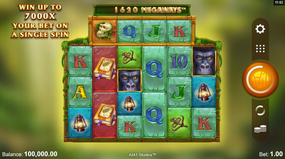free slot Forgotten Island Megaways