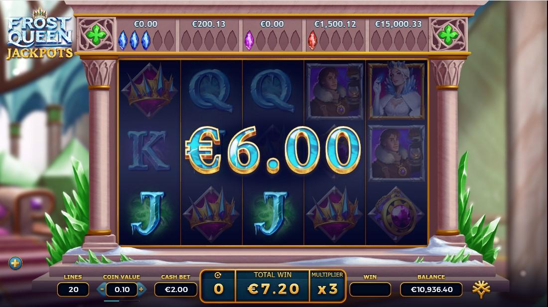 Frost Queen Jackpots игровой автомат