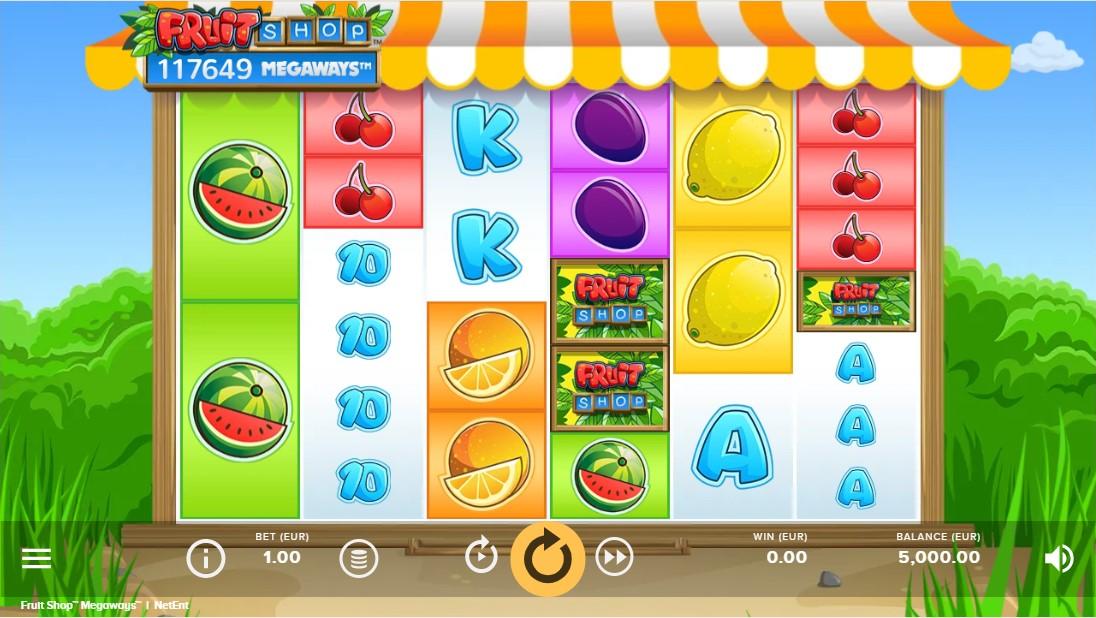 бесплатный слот Fruit Shop MegaWays