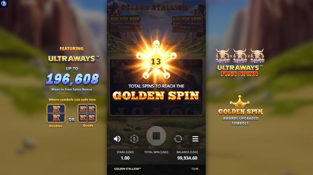 free slot Golden Stallion