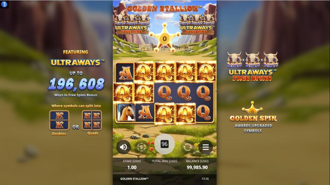 Golden Stallion игровой автомат