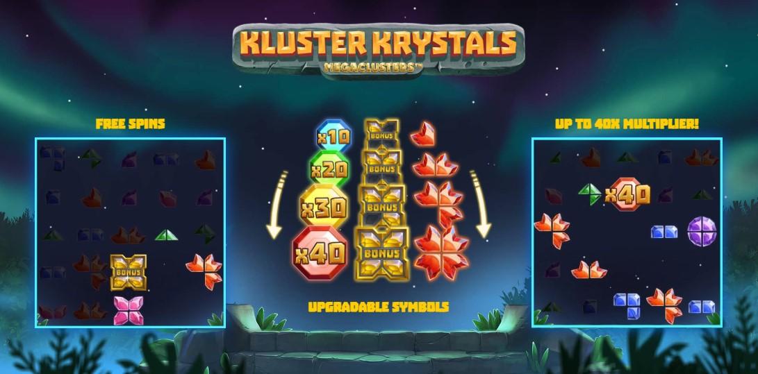 Играть Kluster Krystals Megaclusters бесплатно