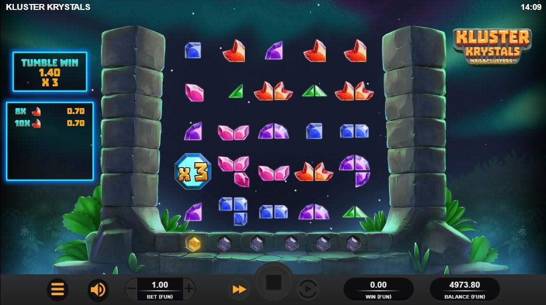 free slot Kluster Krystals Megaclusters