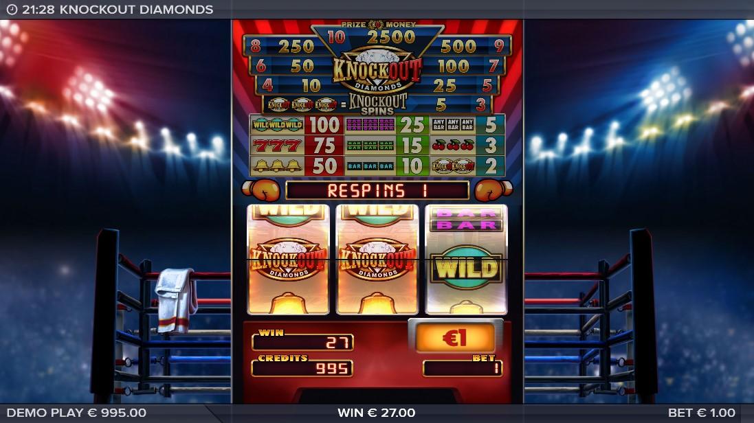 Knockout Diamonds онлайн слот