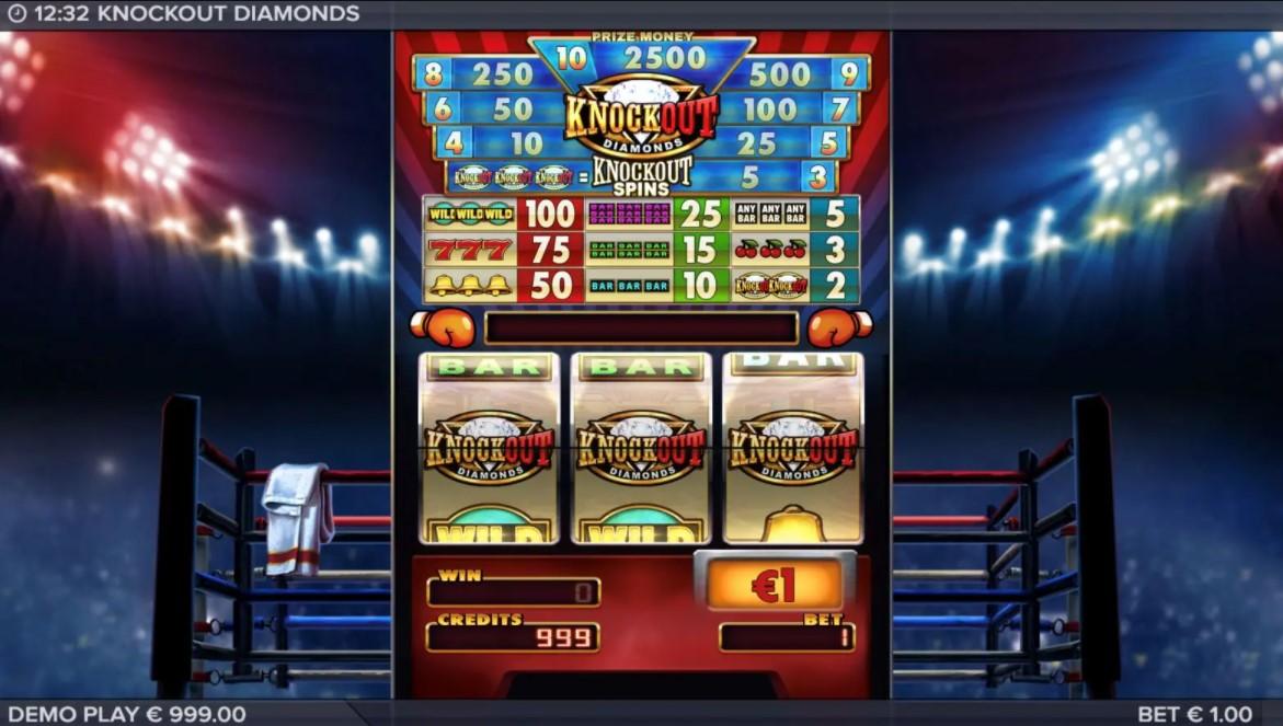 Free slot Knockout Diamonds