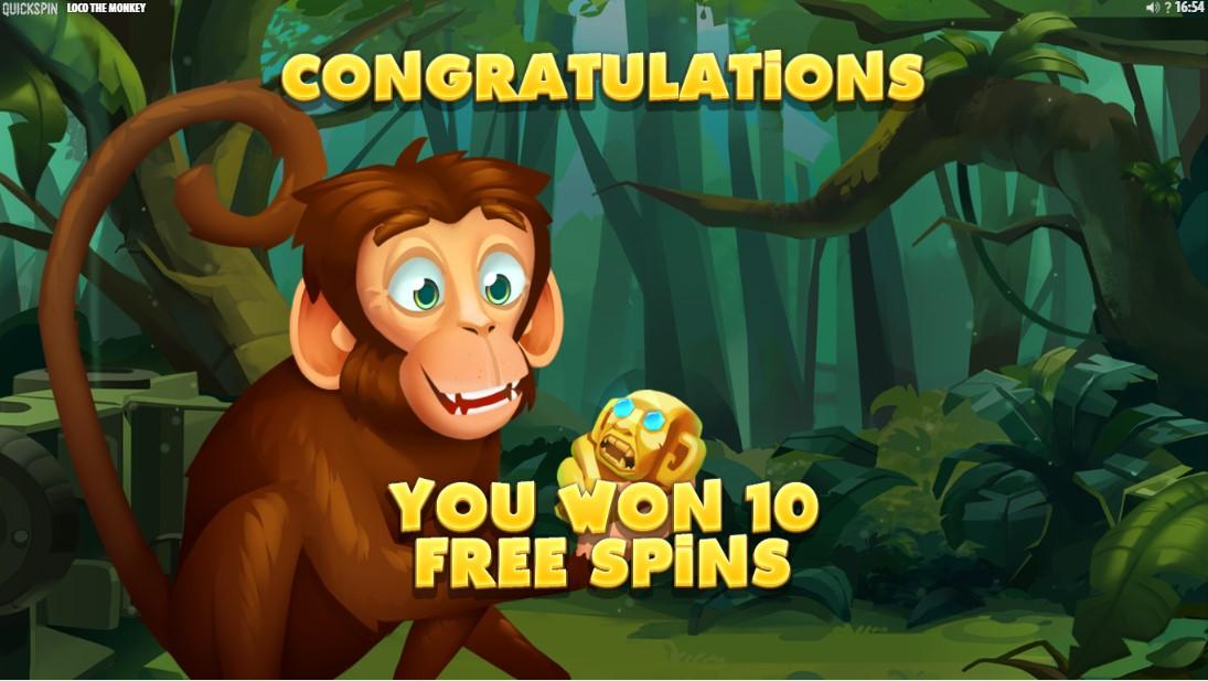 Loco the Monkey игровой автомат