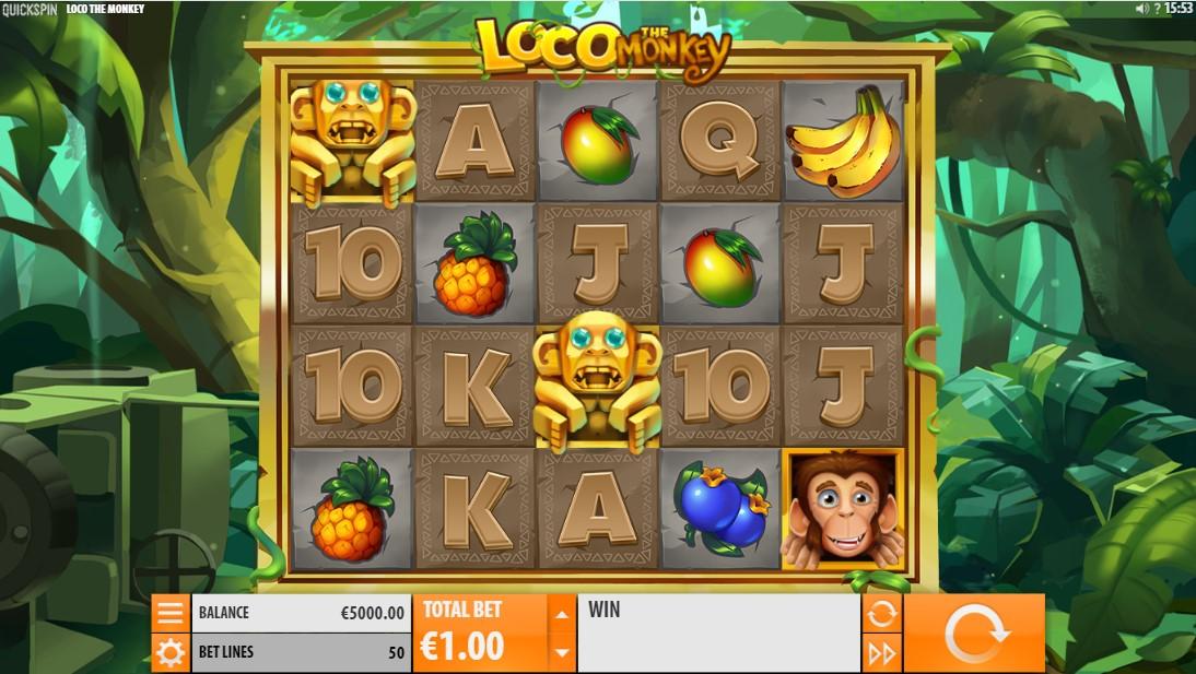 Loco the Monkey онлайн слот