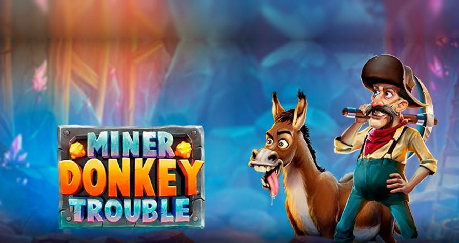 Играть Miner Donkey Trouble бесплатно