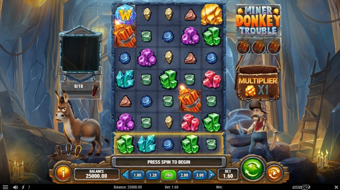 Miner Donkey Trouble онлайн слот