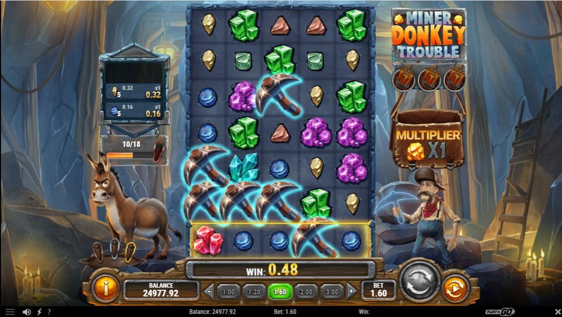 Miner Donkey Trouble игровой автомат
