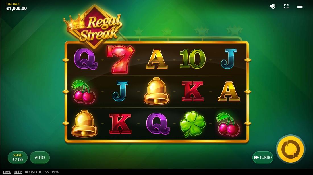 free slot Regal Streak