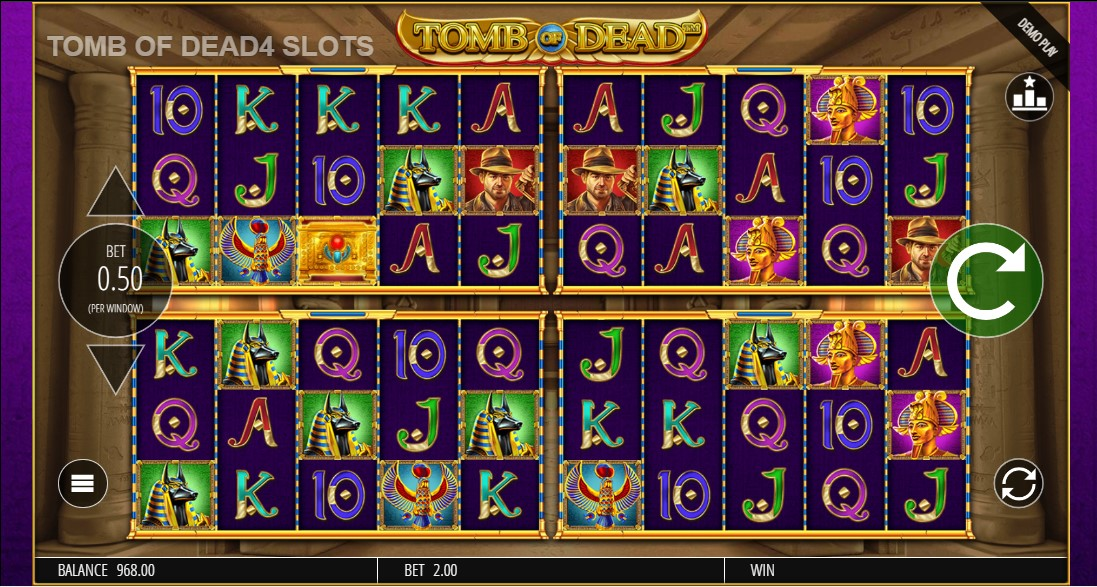 free slot Tomb of Dead Power 4 Slots