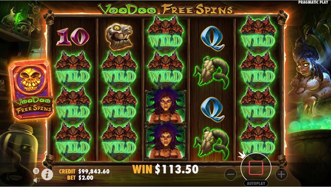 Voodoo Magic игровой автомат