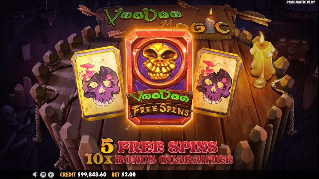 Voodoo Magic онлайн слот