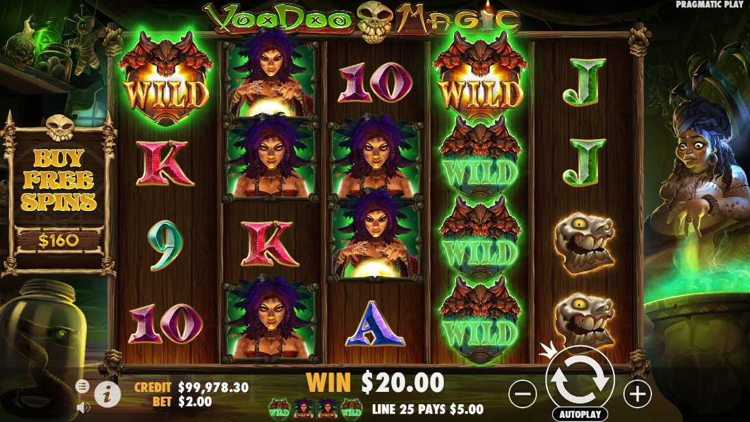 free slot Voodoo Magic