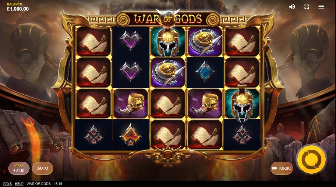 War of Gods онлайн слот