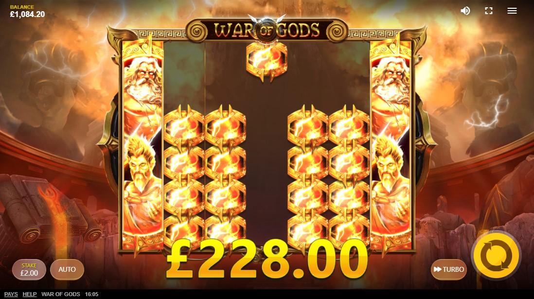 War of Gods игровой автомат
